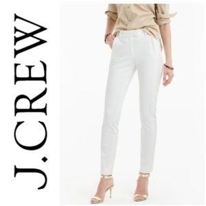 "NEW J. CREW ""Maddie"" white dress pants   0"